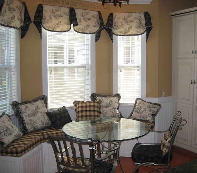 Toile Breakfast Area Window Seat Design Folly Flickr