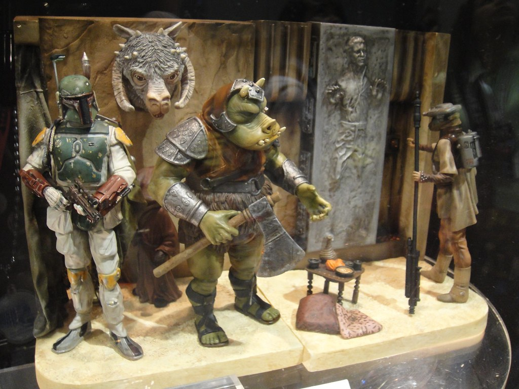 Gentle Giant Star Wars Jabba S Palace Statue Diorama
