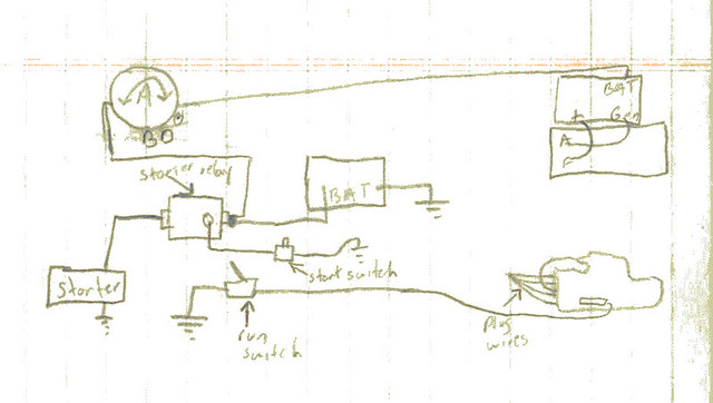 electrical diagram of our 1940 farmall h | My crude