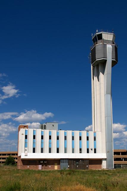 Stapleton Control Tower Denver CO Facility Control