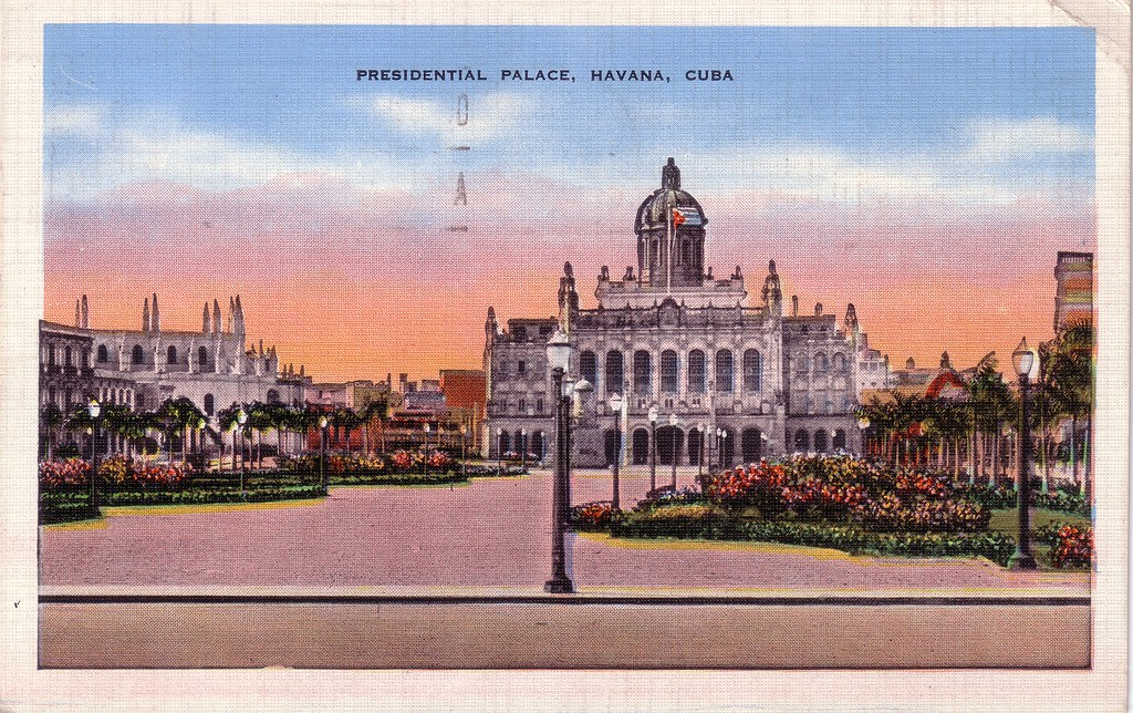 Presidential Palace Havana Cuba Postmarked Aug 13