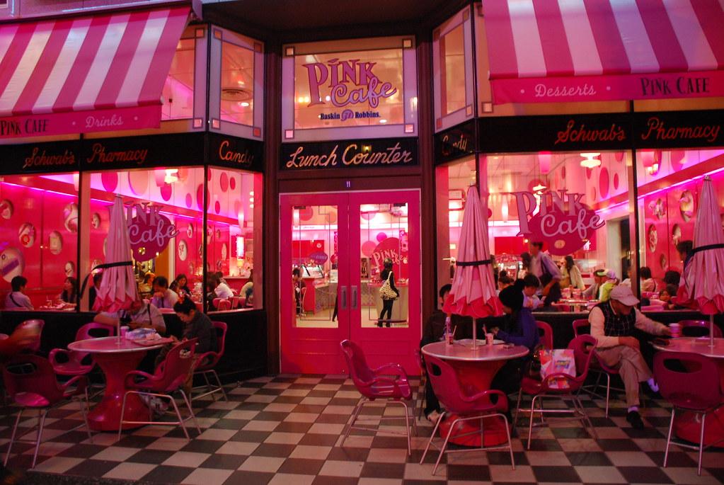 Pink Cafe Universal Studios Japan Debarka Banik Flickr