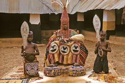 Nigeria Yoruba Oba Ademuwgun Adesida II In 1959 By Eliot