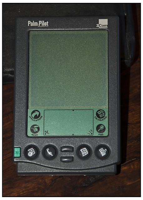 Original Palm Pilot Did Actually Recycle This Bit Of Out