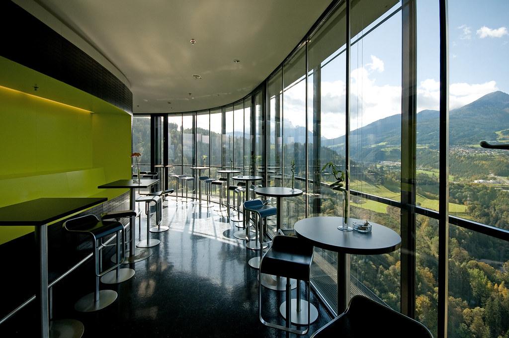 Restaurant Ski Jump Tower Bergisel Innsbruck Bergisel