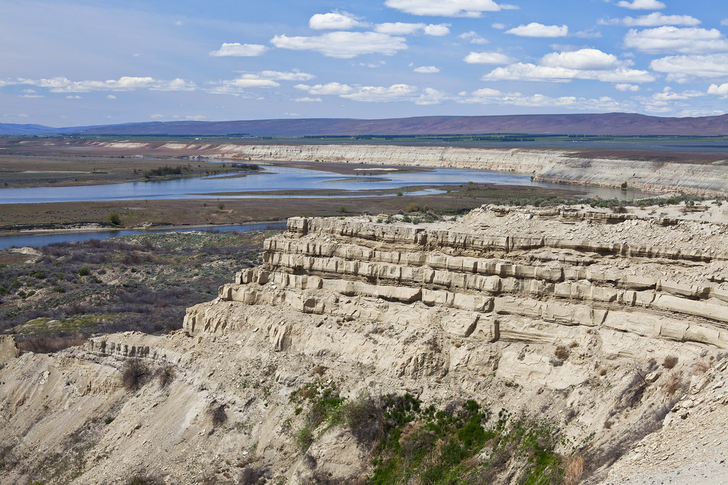 Columbia River In Hanford Reach National Monument The