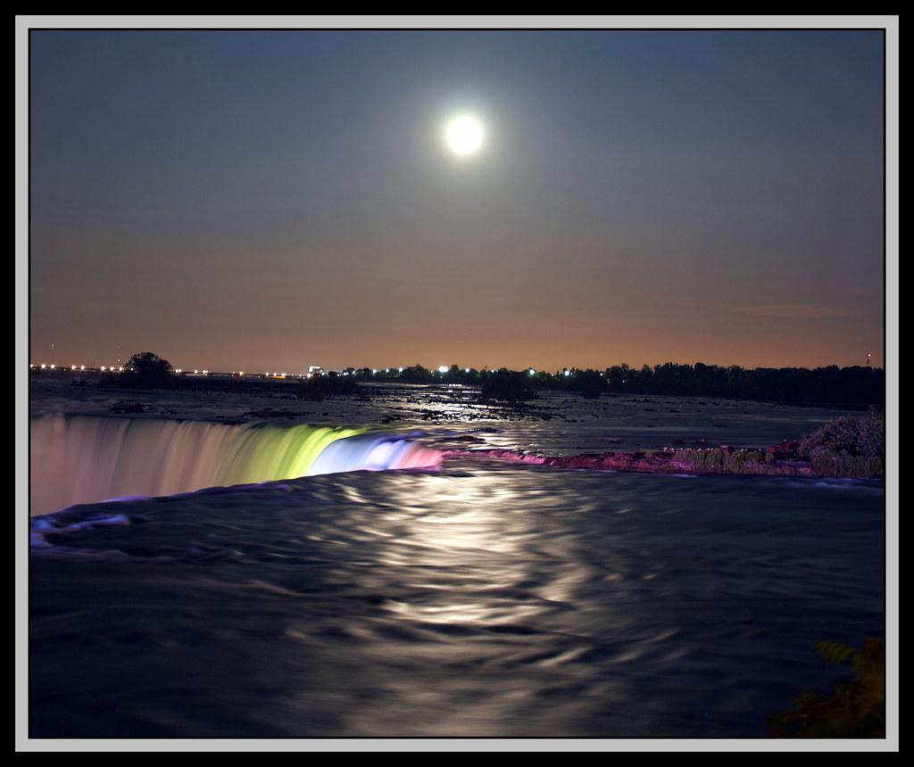 Niagara Falls At The Edge Of Color