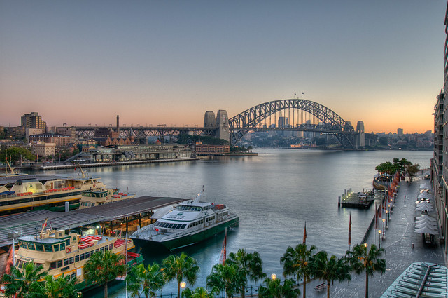 HDR of Sydney harbour