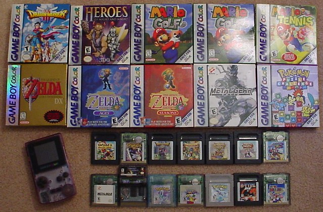 Game Boy Color games   My Game Boy Color collection  21 uniq      Flickr     Game Boy Color games   by Mr  Smashy