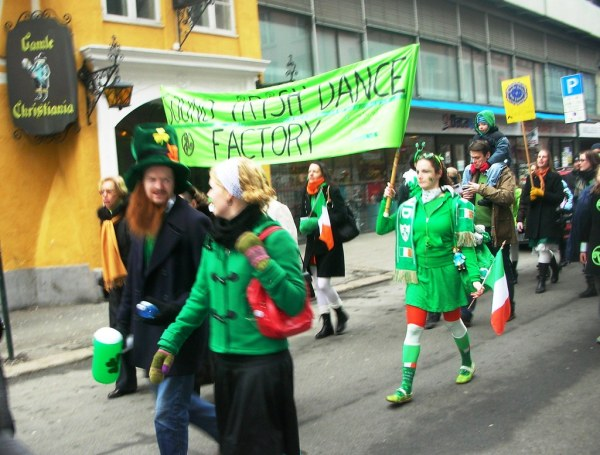 St. Patrick's Day Parade in Oslo #9 | Read more about this ...