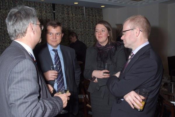 FDF Parliamentary Dinner   Michael Weir MP, Julian Hunt ...