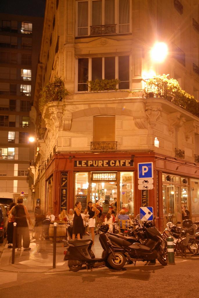Le Pure Cafe At Night Le Pure Caf 14 Rue Jean Mac 11