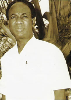 Co President Of Guinea Kwame Nkrumah In Conakry After The