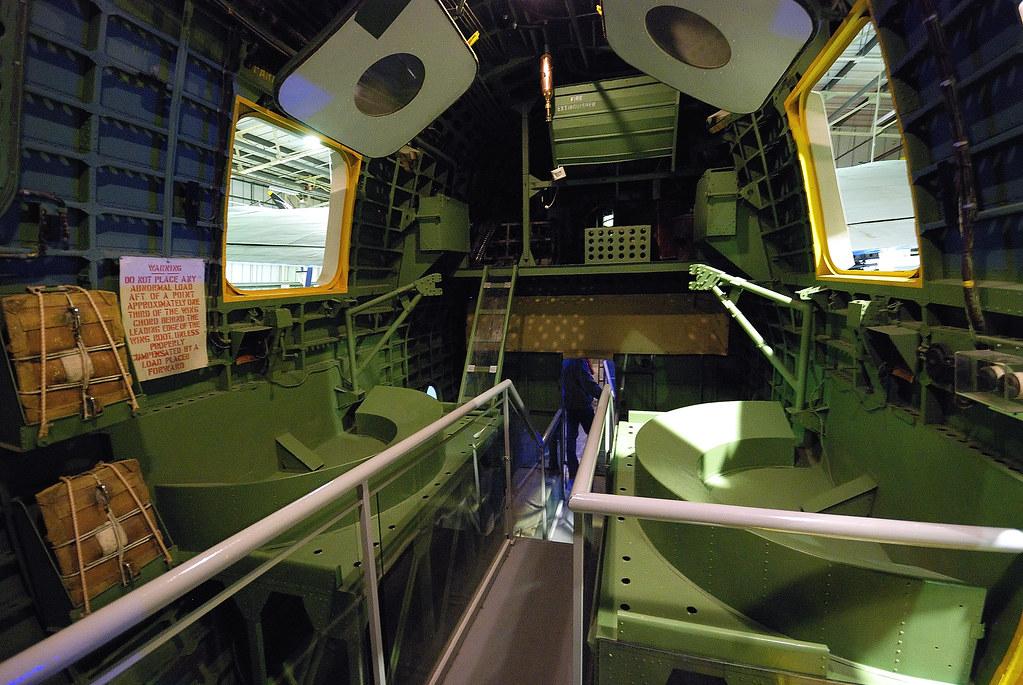 Interior Of Short Sunderland Flying Boat Taken From Just