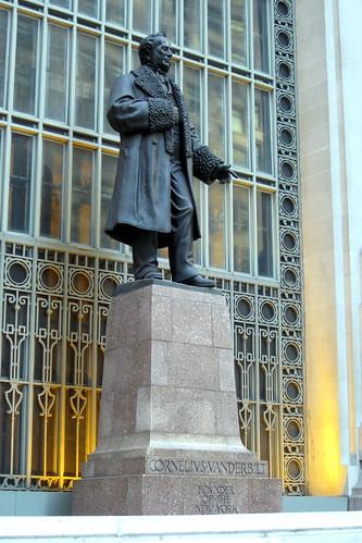 Nyc Grand Central Terminal Commodore Cornelius