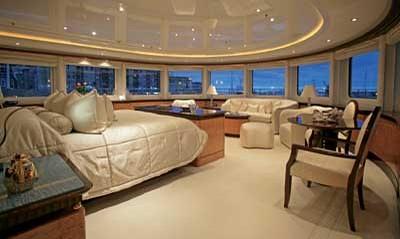 Lady Lola Yacht Statesroom The Windows Surrounding The