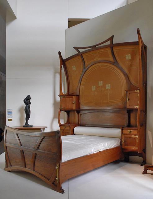 Chambre Art Nouveau Muse DOrsay Lit Modle Cr En