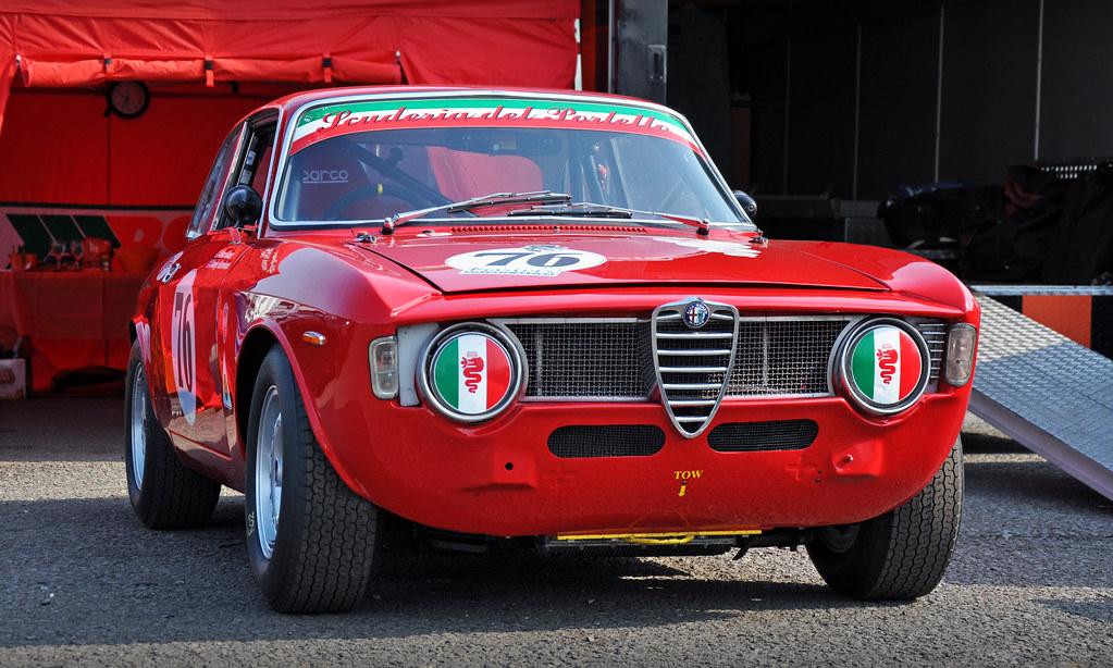 Roz Shaws Scuderia Del Portello Alfa Romeo Guilia Sprint