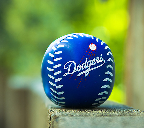 Dodger Baseball Bokeh HBW I Get To Go To A Game