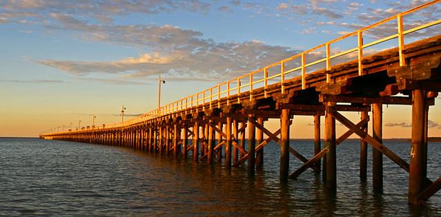 Hervey Bay Queensland Australia Urangan Pier IMG3704H