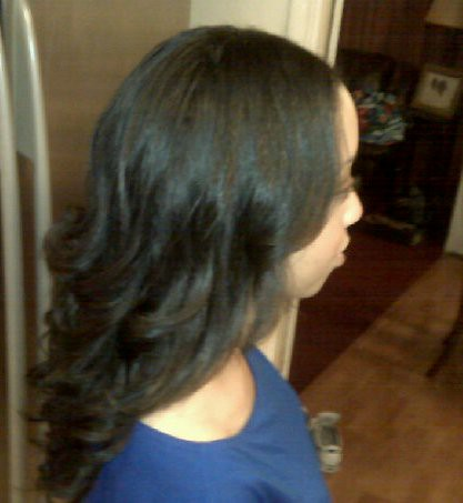 half sew in weave this client alread has long hair i just flickr