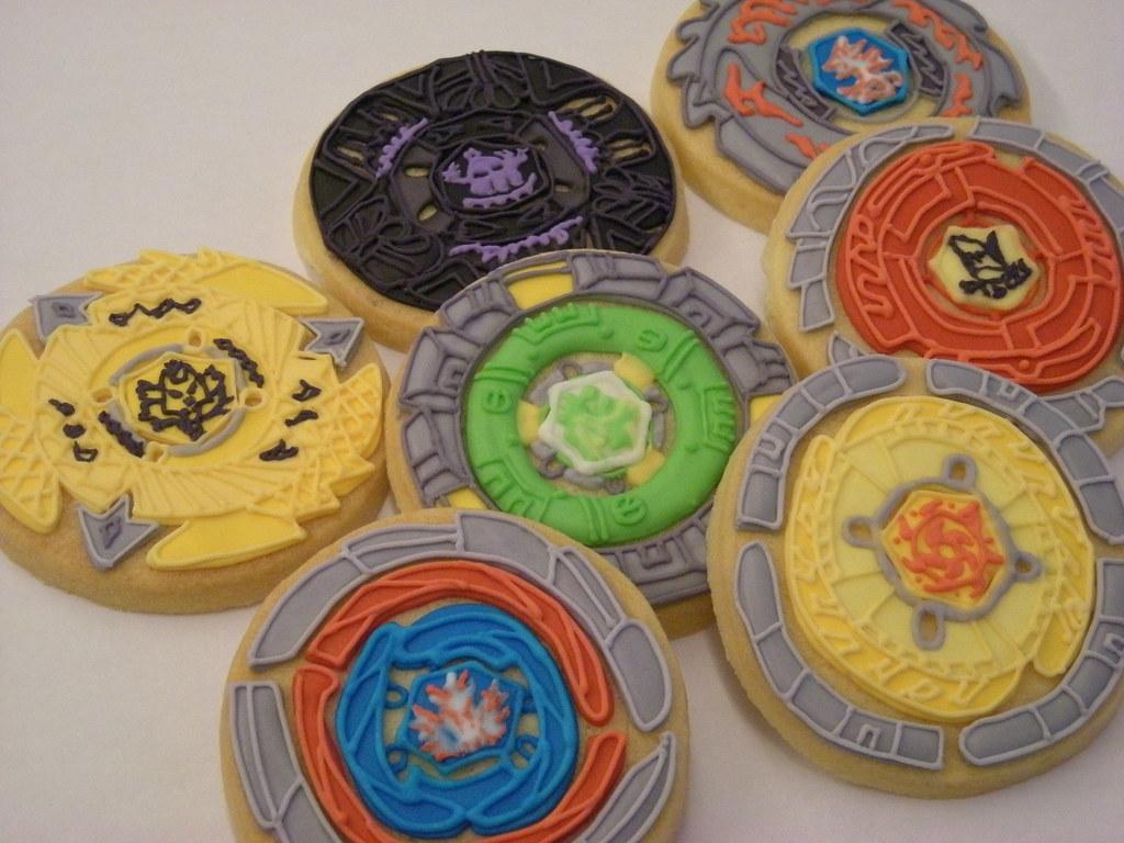 BEYBLADE COOKIES Cbonbon Cookie Flickr