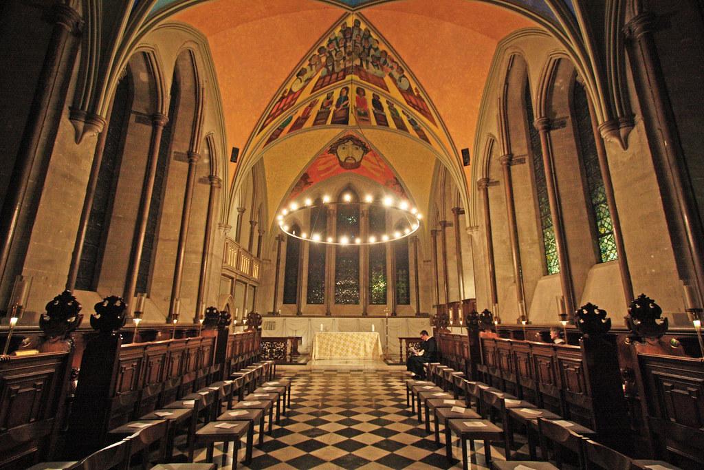 Inside Lambeth Palace Chapel The Early 13th Century