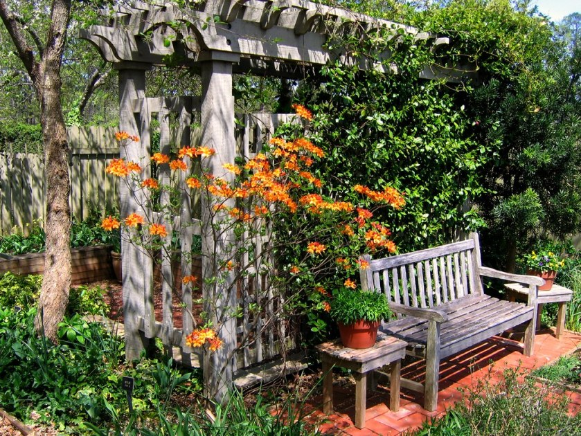 mobilier jardin en palette de bois
