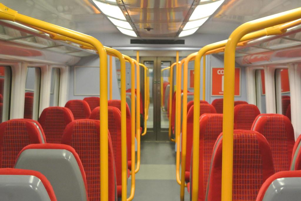 South West Trains Class 458 531 Interior Class 4585