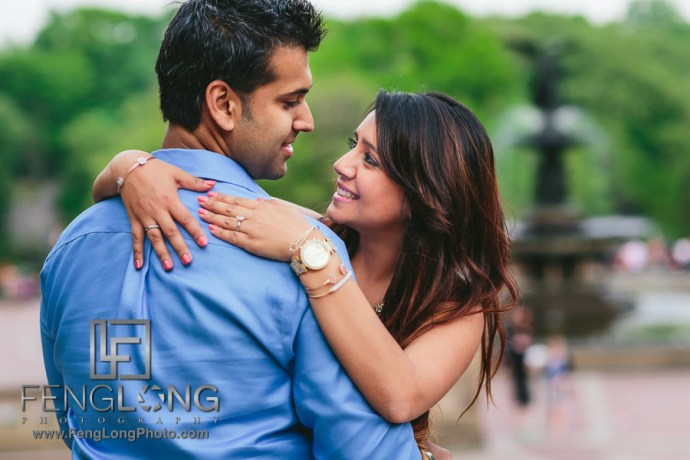 Manisha & Ali | Central Park Brooklyn Bridge | New York City Indian Wedding Photography