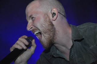 Rasmus Bom Anderson of Diamond Head live at Limelight, Belfast, 27 June 2015