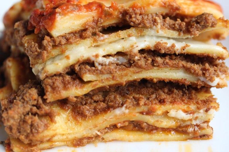 Image result for lasagna bolognese