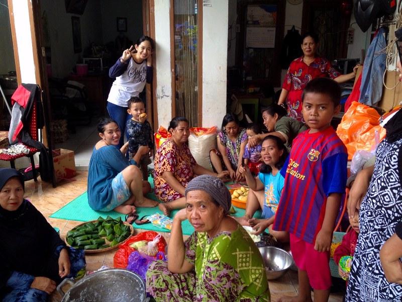 family in makassar indonesia