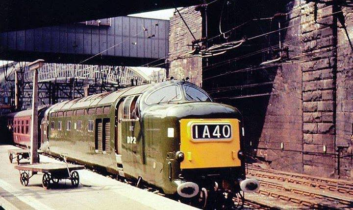 English Electric Prototype DP2 Liverpool Lime St Flickr