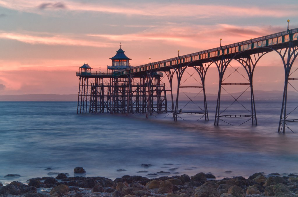 Clevedon Pier Clevedon Pier Is A Seaside Pier In The