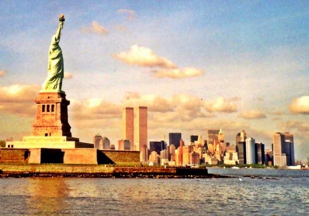 New York Skyline 1996, NYC, USA