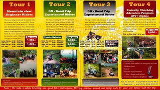Brochure ATV Chiang Mai Tours Thailand 2