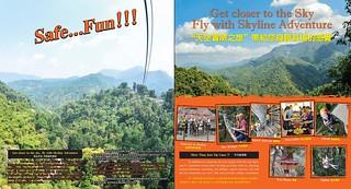 Brochure Zipline Skyline Adventure Chiang Mai Thailand 2