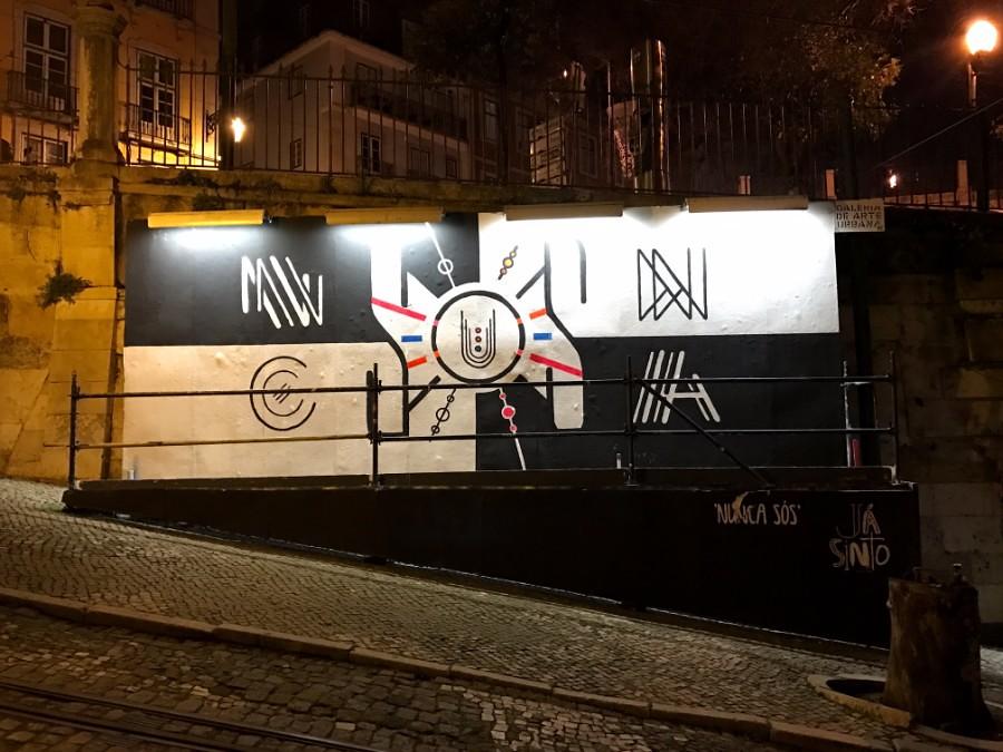 graffiti at lisbon streets