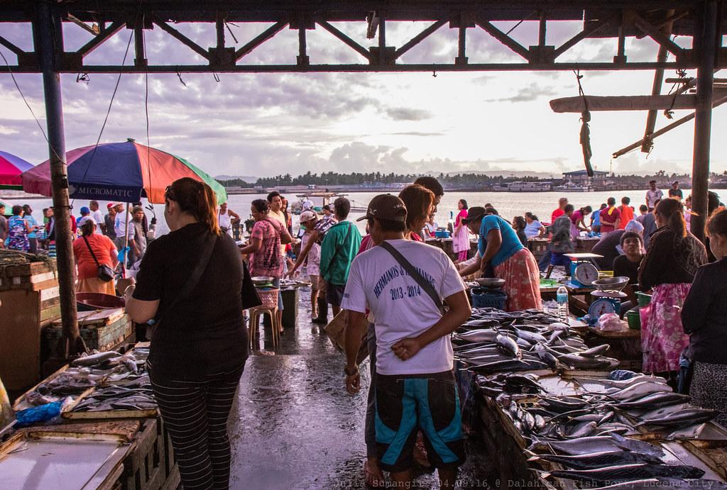 Dalahican Fish Port Lucena City We Left Our Hometown So