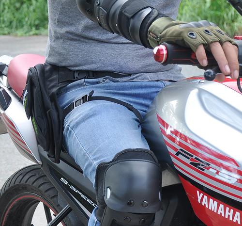 Túi đeo hông đi phượt đi mô tô đi xe máy Cần Thơ