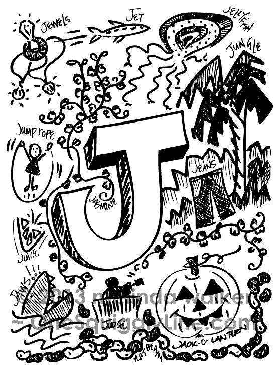 The Joyously Juicy And Judiciously Jazzy Letter J