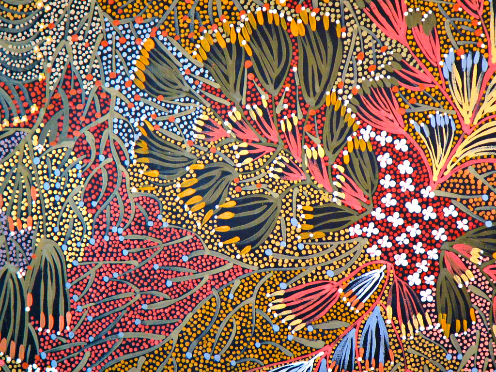 Missing Australia Aboriginal Art At Alice Springs