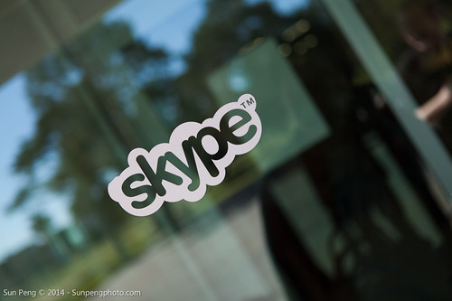 Sede de Skype. Cortesía flick, Sun Peng.