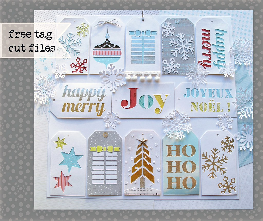 Free Christmas Gift Tag Cutting Files Some Tags Made