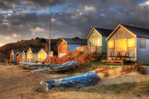 By Dawns Early Light | Mudeford Huts at Dawn HDR | Nick ...