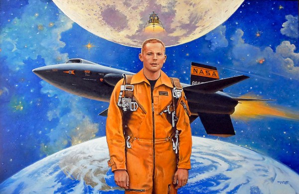 Neil Armstrong, X 15 Pilot and future Apollo astronaut, Ro ...