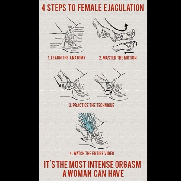 4 steps to #Female #Ejaculation #Intense #Woman #Orgasm an ...