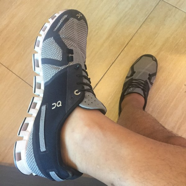 When your race shoes and casual shoes become one.