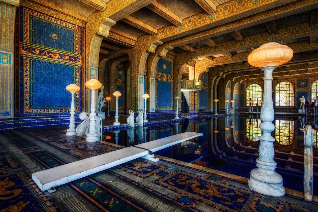 Hearst Castle Roman Pool I Finally Made It To Hearst